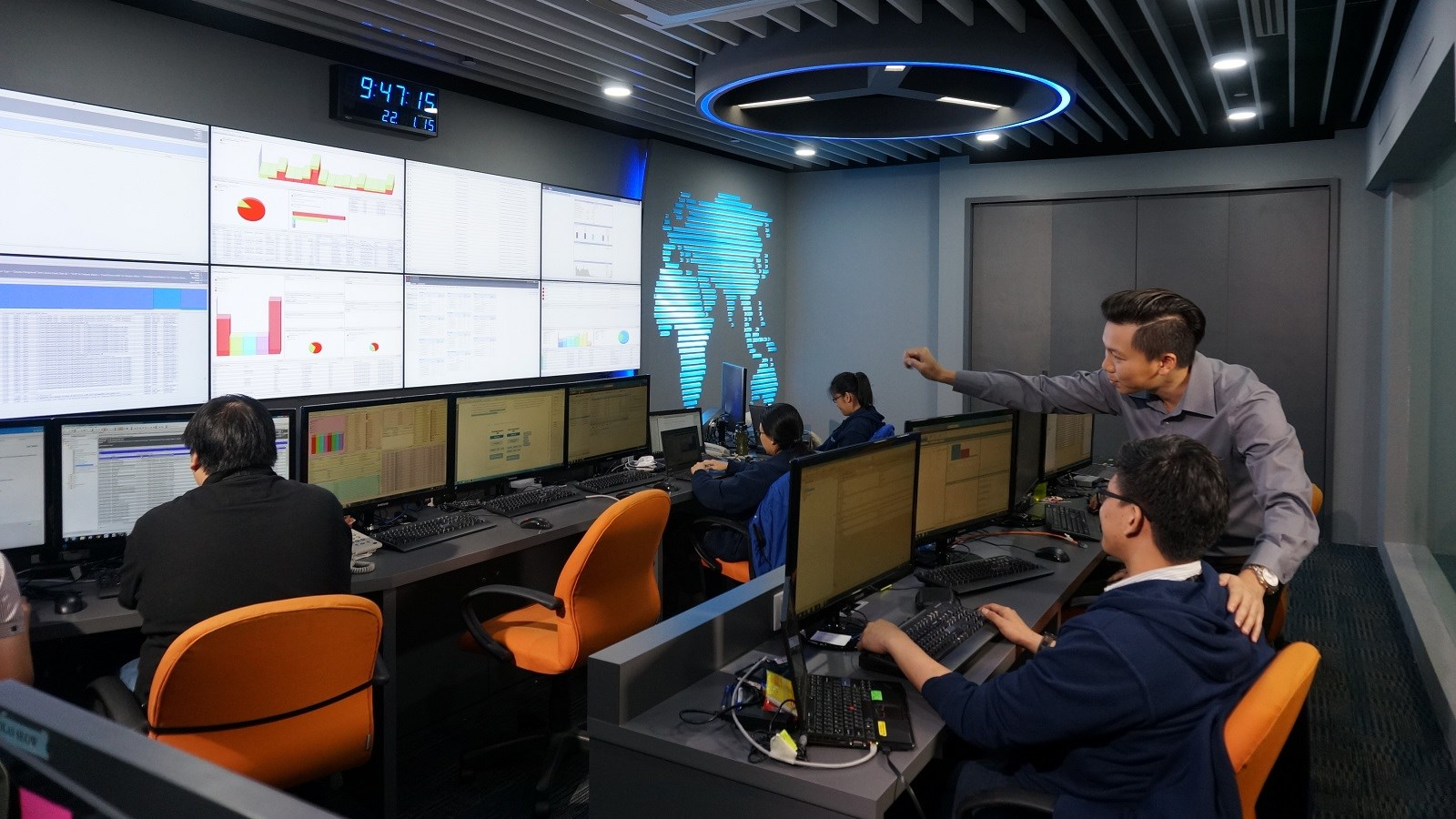 Cybersecurity Command and Control Centre