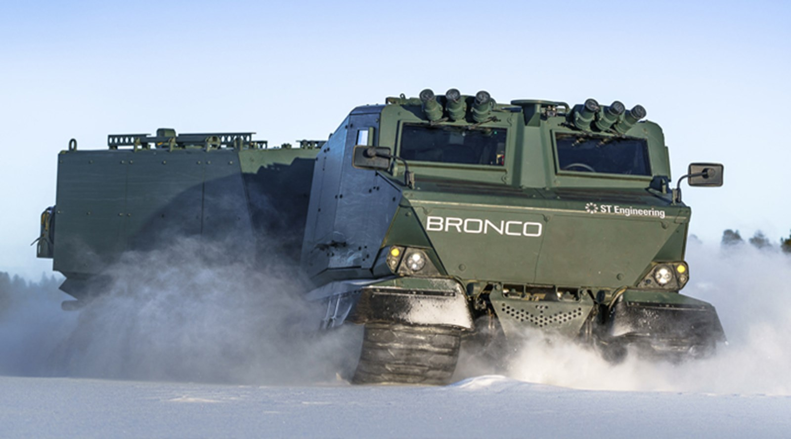 Bronco All Terrain Tracked Carrier | ST Engineering